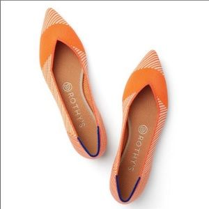 Rothy's The Point Sherbet Pointed Flats RETIRED
